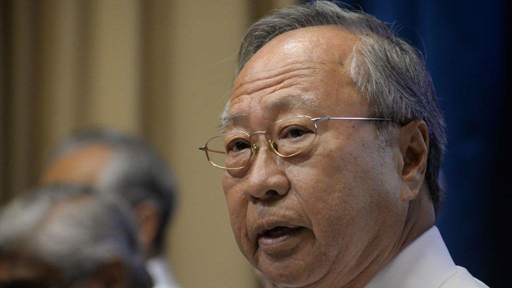 """陈清木与11人成立""""新加坡前进党"""",申请目前还在批准中。"""